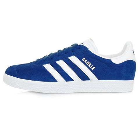 adidas gazalle suede mono lyst adidas originals gazelle royal blue suede shoe