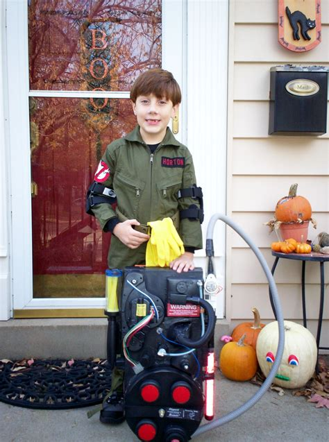Ghostbusters Costume Proton Pack by My In The Ghostbusters Costume I Made Him His Proton