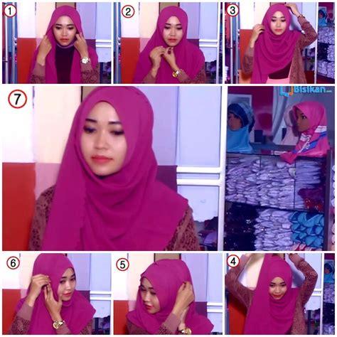 tutorial pashmina selendang tutorial hijab pashmina selendang zahira