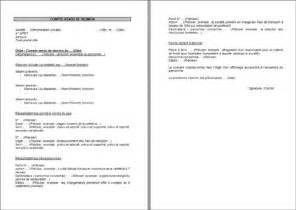 Exemple De Lettre Demande De Reunion Compte Rendu De R 233 Union Modele Lettre