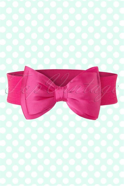 Dress 8 W Belt Pink vintage wide belts cinch belts 1950s belts for dresses