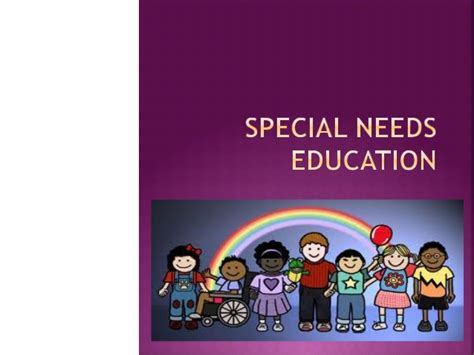 special education templates special needs education powerpoint educ100