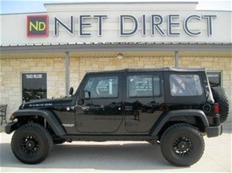 2007 Jeep Wrangler Manual Transmission Purchase Used 2007 Black Unlimited Rubicon Lifted 4x4 6