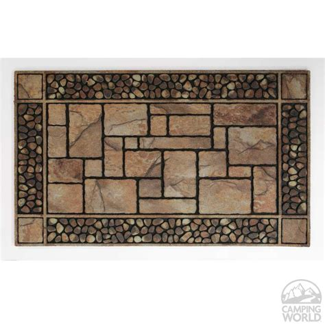 Outdoor Cing Mats Rugs Patio Mats Fireside Patio Mats Melting Glacier Blue 9 Ft X 12 Ft Indoor Blackbrown Key
