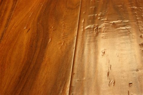 "Acacia Huckleberry 1/2 x 6"" Hand Scraped   Engineered"