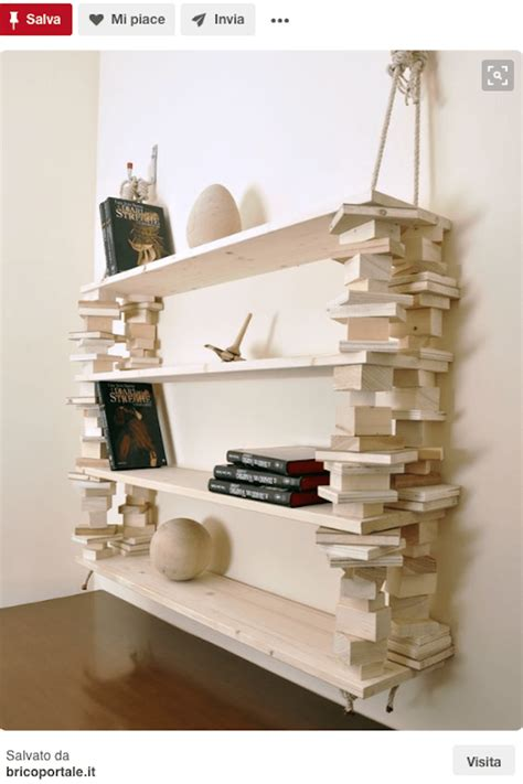 libreria a muro fai da te libreria fai da te il riciclo in legno