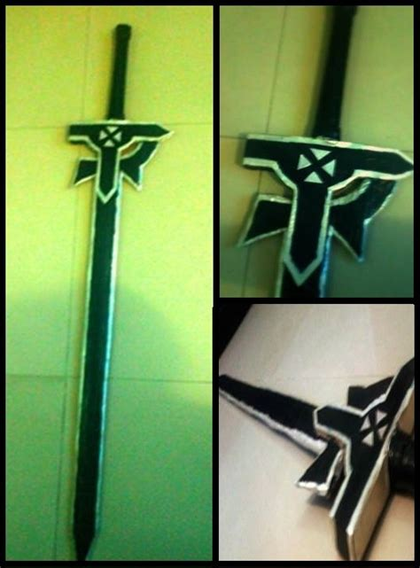 Elucidator Papercraft - sword elucidator by xwhiteskykingx on deviantart