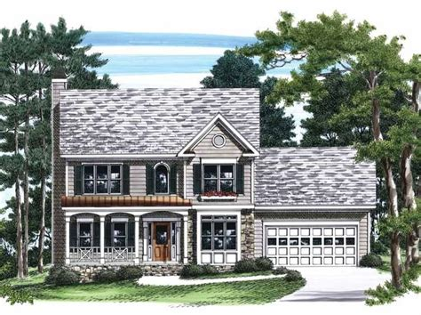 colonial garage plans 15 best images about small hp lots on house plans colonial house plans and garage