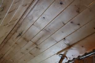 How To Cover Popcorn Ceiling With Wood by The Lettered Cottage The Corner Farmhouse