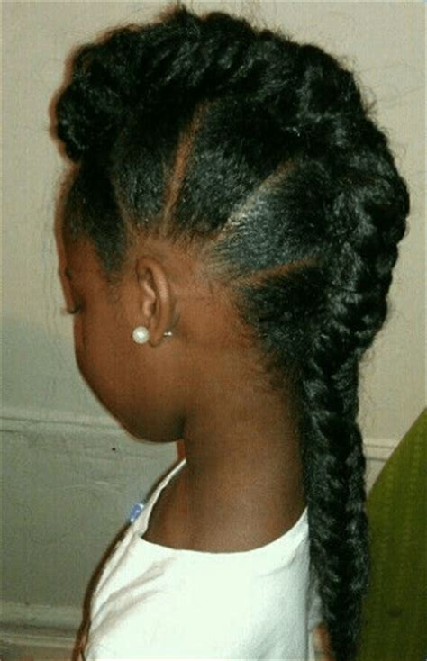 natural ponytail mohawk 6 edgy braided mohawk hairstyles for black women in 2014