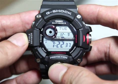 G Shock Gw 9400 Black review of the g shock men s gw 9400 1cr rangeman