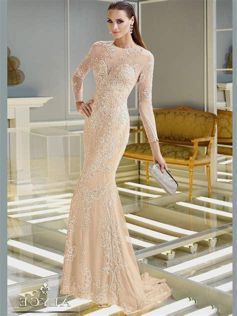 formal long sleeve lace prom dress long sleeve prom dress lace naf dresses