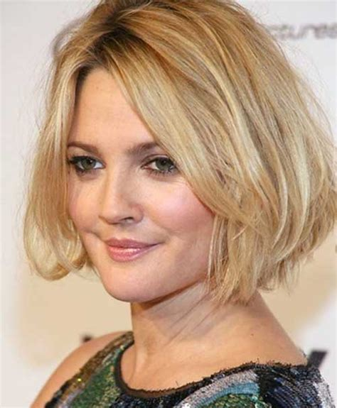 bob hairstyles for round faces and thick hair 15 short layered haircuts for round faces short