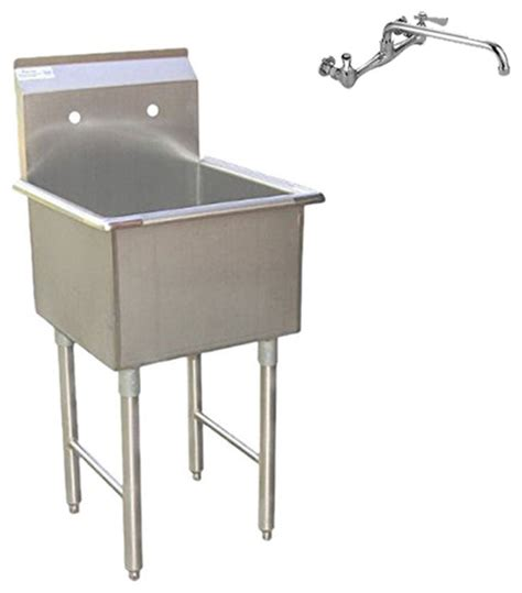 stainless steel garage sink commercial grade stainless steel laundry and garage sink