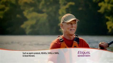 eliquis tv commercial eliquis tv commercial kayaker ispot tv