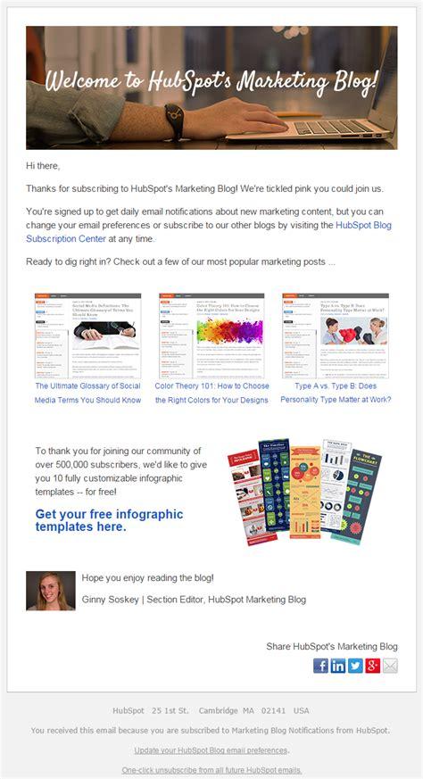 Hubspot Newsletter Subscription Confirmation Email 2015 Email Newsletter Exles Email Hubspot Marketing Templates