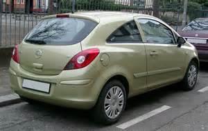 Opel Corsa 2008 File Opel Corsa D Rear 20080115 Jpg