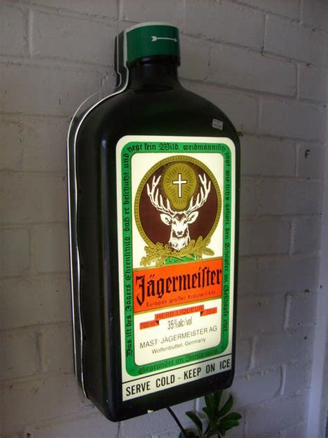 bar accessories jagermeister bar light was sold for r600