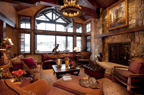 rustic family room modern rustic living room