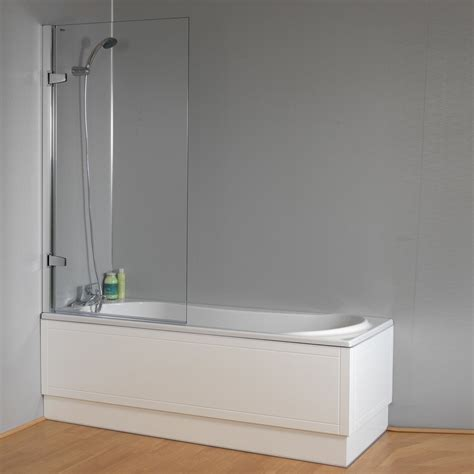 qualitex plexicor isede shower bath front panel and screen