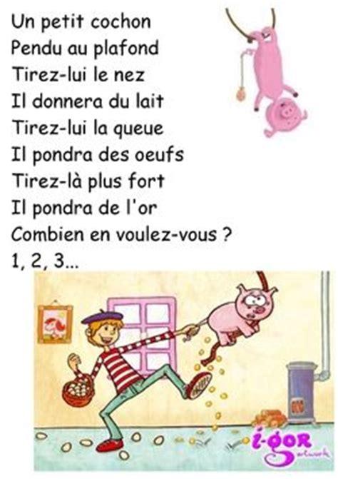 Trois Petit Cochon Pendu Au Plafond by Chansons Et Comptines Autour Des Petits Cochons Conte