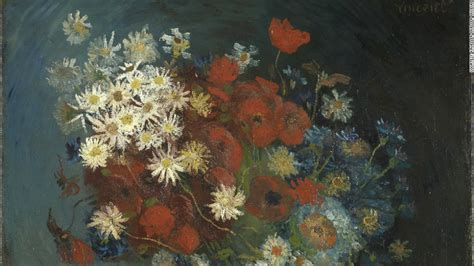 new year flower painting museum discovers new gogh painting cnn