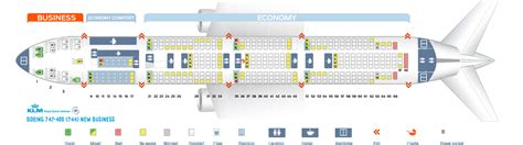 747 400 seat map seat map boeing 747 400 klm best seats in the plane
