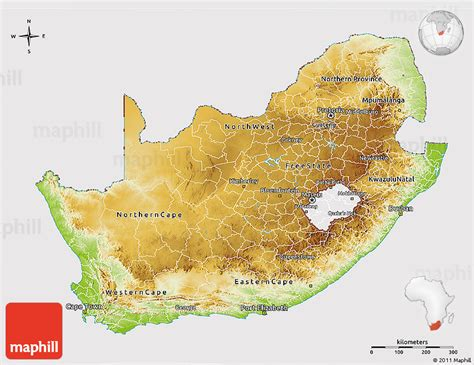 south africa physical map physical 3d map of south africa cropped outside