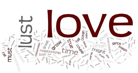 is love blind love lust and perception love or lust online poetry collection
