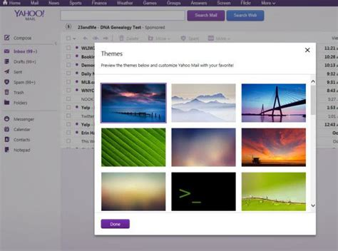 themes yahoo mail yahoo mail slide 4 slideshow from pcmag com