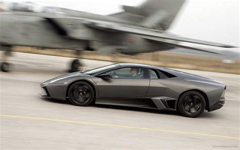 Lamborghini And Jet Lamborghini Reventon Racing Jet Wallpaper Hd Car Wallpapers