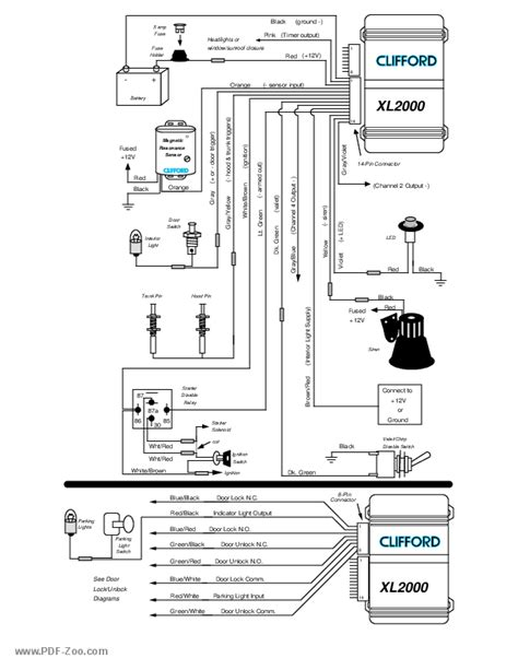 clifford arrow 3 wiring diagram wiring diagram 2018
