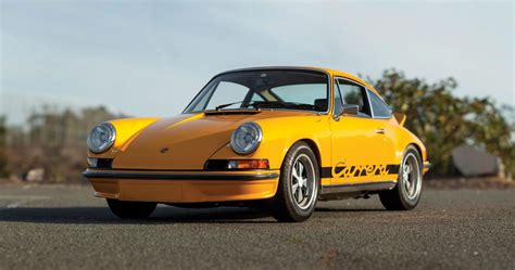 Porsche 911 Carrera 2 by 1973 Porsche 911 Carrera Rs 2 7 Touring