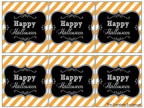 free printable gift tags for halloween treats free printable halloween tags labels printable of the