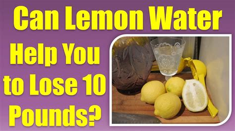 Can Detoxing Help You Lose Weight by Image Gallery Lemon Water Weight Loss