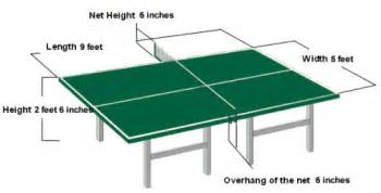 tisch tischtennis table tennis room size court and table dimensions