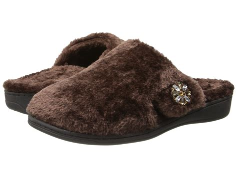 zappos slippers vionic with orthaheel technology gemma luxe slipper