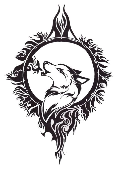 17 celtic wolf tattoos
