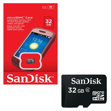 Sandisk Sdhc 32gb Class 4 Sd by Genuine New 32gb Sandisk Mobile Micro Sd Sdhc Memory Card