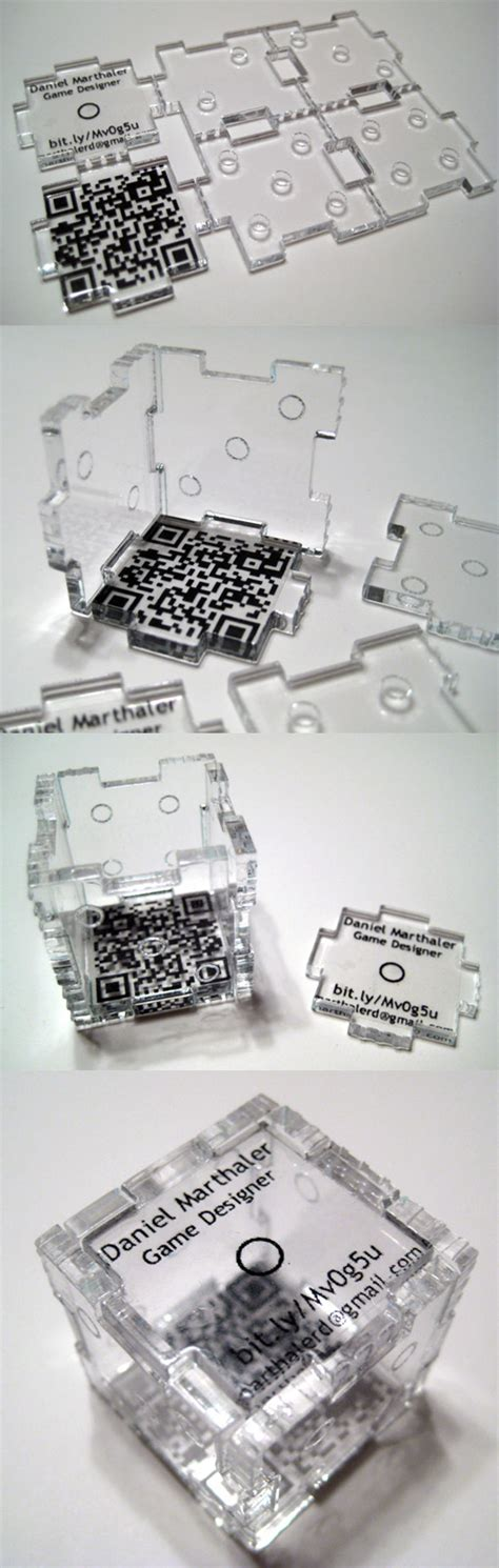 3d die cuts card laser cut acrylic business card which becomes a 3d die