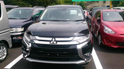 mitsubishi indonesia 2016 2016 mitsubishi outlander phev facelift spied in japan