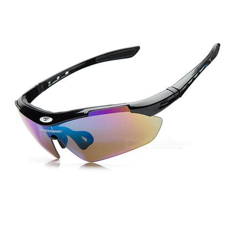 Sunglasses Kacamata Outdoor Sporty Polarized Lens Batal4463 robesbon outdoor sports resin lens pc frame uv polarized