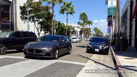 Maserati Beverly by Maserati Ghibli Spotted In Beverly California On 09