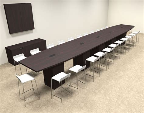 Counter Height Conference Table Boat Shape Counter Height 24 Conference Table Of Con Ct47