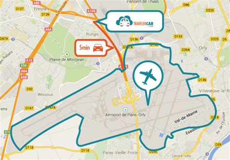 Parking aéroport Orly Sud et Orly Ouest ? TravelerCar