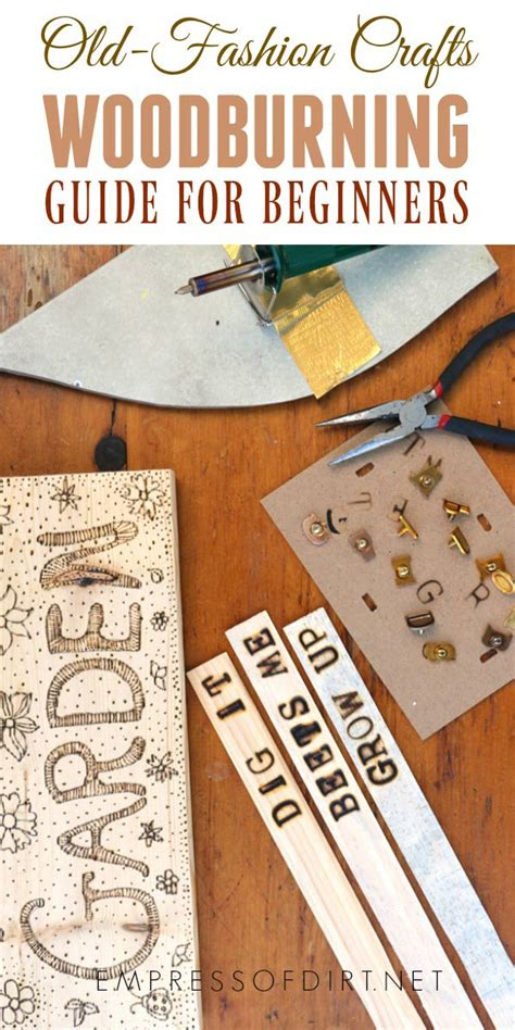 diy crafts for beginners woodburning for beginners diy crafts empress of dirt