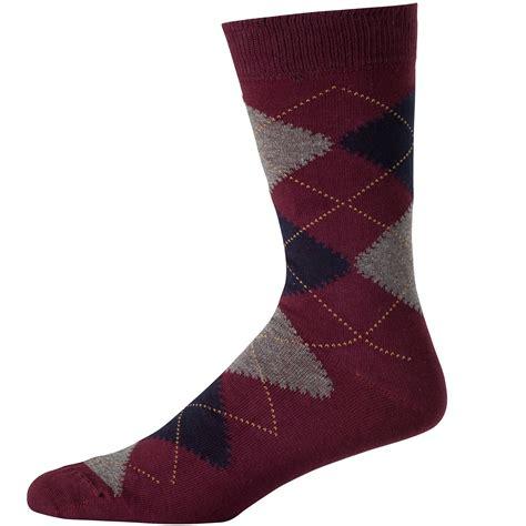 pattern socks uk wolsey argyle pattern sock burgundy bourgogne socks