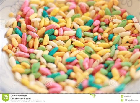 colorful cereal colorful rainbow cereal stock image image of rainbow