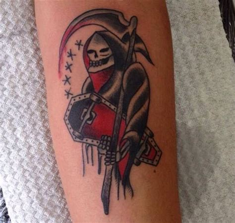 50 drop dead gorgeous santa muerte tattoos tattoomagz