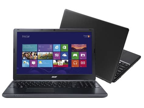 Notebook Acer Aspire One Windows 8 notebook acer aspire e1 intel i5 4gb 500gb windows 8 1 led 15 6 hdmi notebook